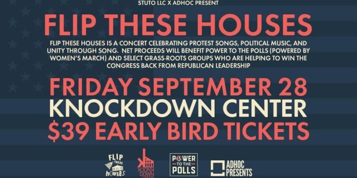 "Britt Daniel, Nicole Atkins, Lee Ranaldo and More to Play ""Flip These Houses"" Benefit"