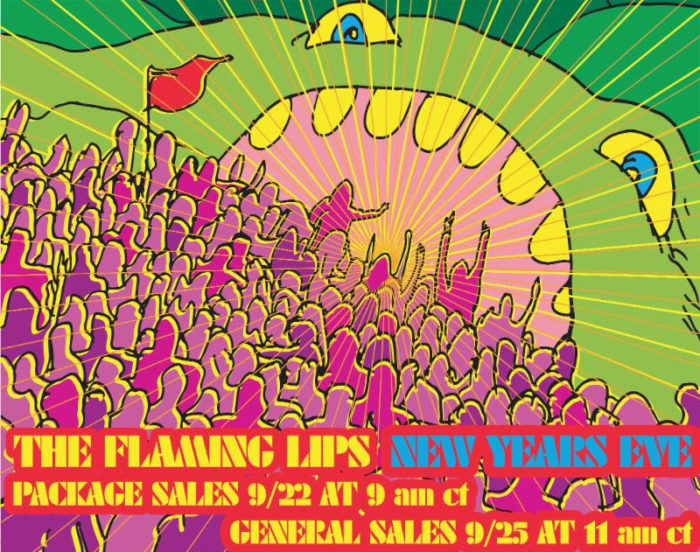The Flaming Lips Schedule Underground NYE Party