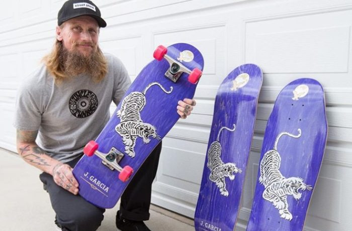 Street Plant Skateboards Release Jerry Garcia-Inspired Tiger Deck