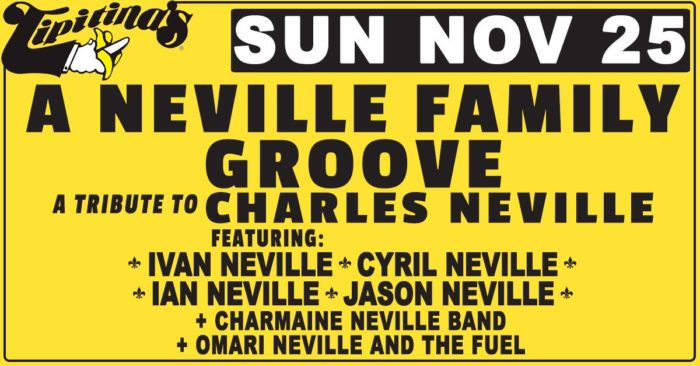 "Ivan Neville, Cyril Neville and More to Play ""Neville Family Groove"" Tribute to Charles Neville in New Orleans"