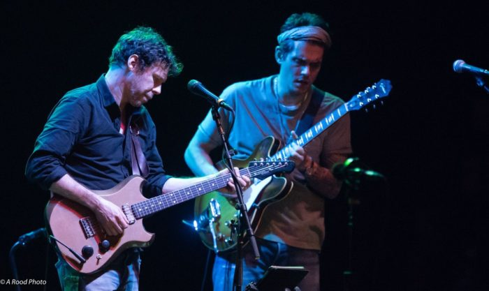 Scott Metzger and John Mayer, Joe Russo's Almost Dead, The Wiltern, Los Angeles, CA, 11/9/18- photo by Steve Rood