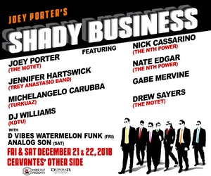 Members of Trey Anastasio Band, The Motet, The Nth Power, Karl Denson's Tiny Universe Set for Shady Business Shows