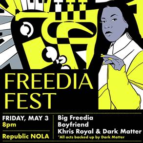 """8th Annual Nolafunk Jazz Fest Series Begins 2019 Rollout with """"Freedia Fest"""""""
