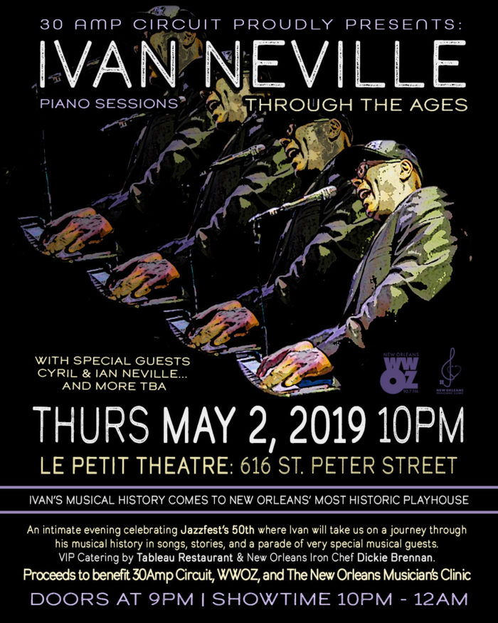 Ivan Neville Schedules Career Retrospective Show During Jazz Fest