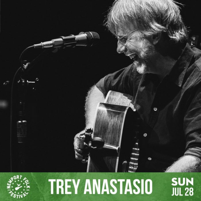 Trey Anastasio Added to Newport Folk Lineup
