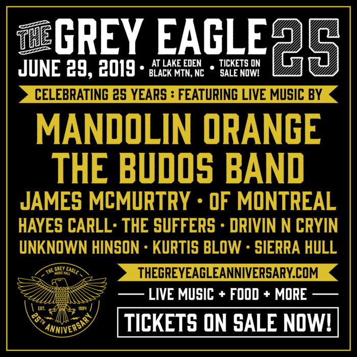 Mandolin Orange, The Budos Band, of Montreal and More to Celebrate 25th Anniversary of North Carolina's Grey Eagle