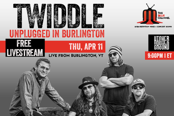 The Relix Channel Offering Free Livestream of Twiddle's Unplugged in Burlington Show