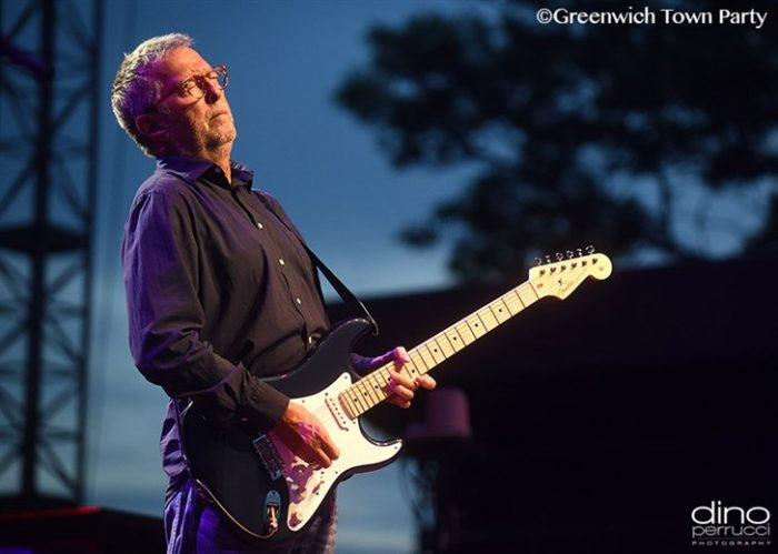 Eric Clapton Honors Doris Day in London