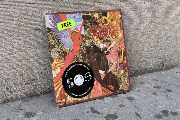 Sounds of Saving is Giving Away Free Vinyl For Their #FightBackWithMusic Campaign