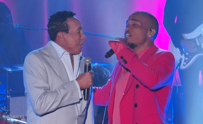 "Watch Anderson .Paak and Smokey Robinson Sing ""Make It Better"" on 'Kimmel'"