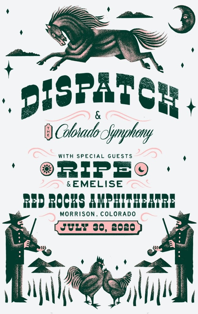 Dispatch to Perform With Colorado Symphony at Red Rocks
