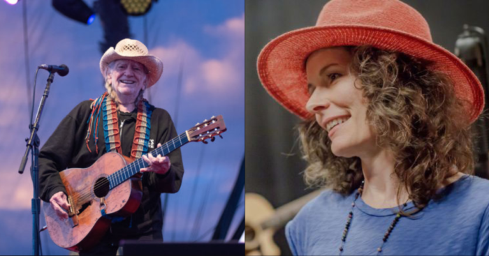 "Edie Brickell Debuts ""Sing To Me, Willie"" (Feat. Willie Nelson) To Celebrate Nelson's 87th Birthday"